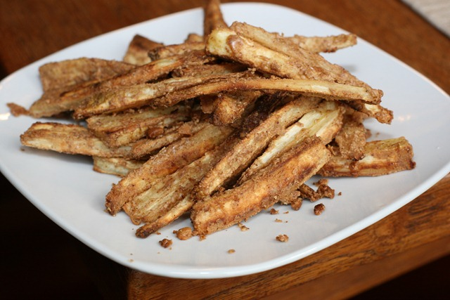 honestly never imagined parsnip fries could taste this good.