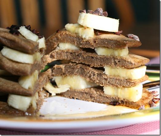 IMG 6269 thumb   Banana Pancake Sandwich
