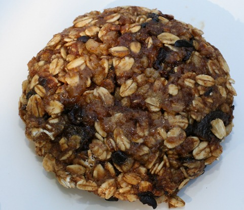 IMG 7465 thumb   Cookie Friday: 3 Minute Vegan Maple Oatmeal Cookie