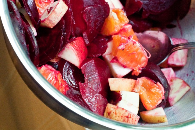 vinaigrette beet apple and orange salad beet apple and orange salad ...