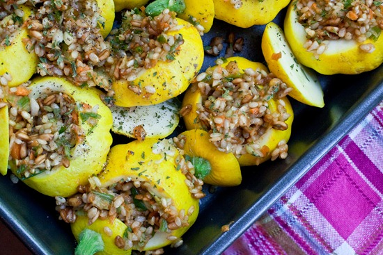 IMG 3466 thumb   Pretty In The Pan Stuffed Patty Pan Squash