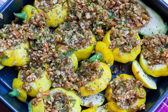 IMG 3468 thumb   Pretty In The Pan Stuffed Patty Pan Squash