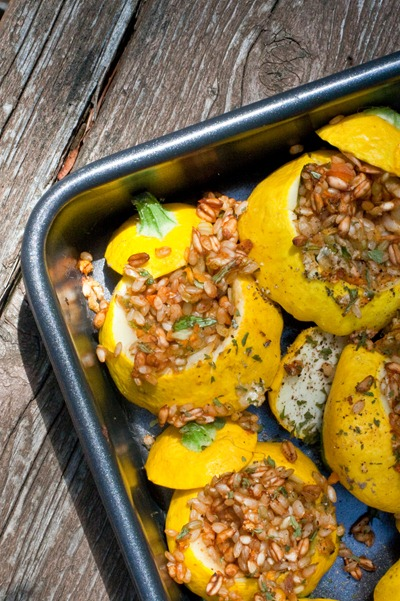 IMG 3480 thumb   Pretty In The Pan Stuffed Patty Pan Squash