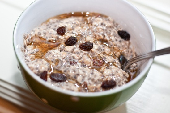 IMG 4138 thumb   Oatmeal Raisin Cookie Vegan Overnight Oats