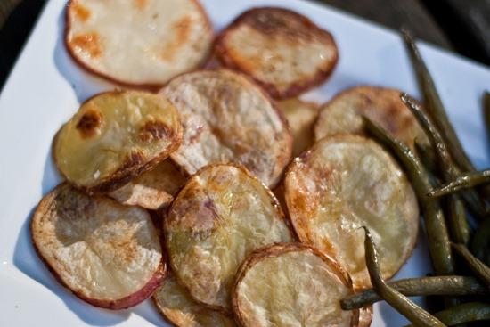 IMG 4891 thumb   Homemade Salt & Vinegar Chips