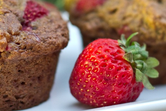 20100830IMG 1709 thumb   Strawberry, Banana, n' Nut Butter Love Muffins