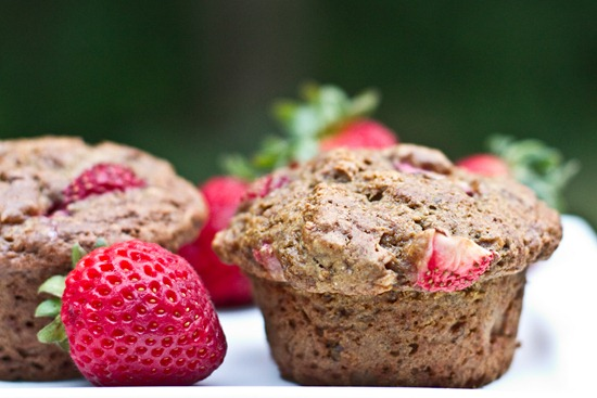 20100830IMG 1723 thumb   Strawberry, Banana, n' Nut Butter Love Muffins