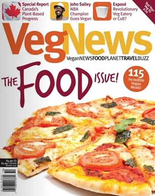 vegnews1 thumb   VegNews: The Vegetarian and Vegan Movement In Canada
