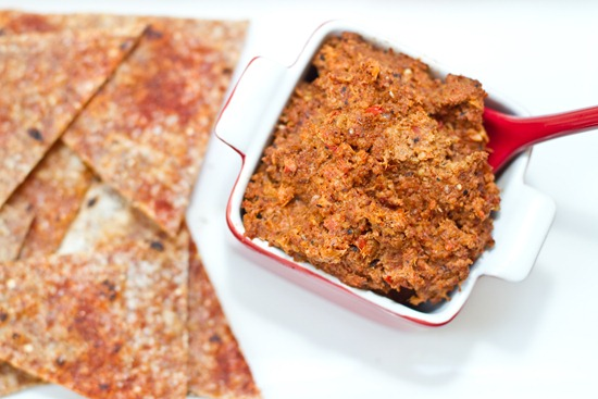20100907IMG 2625 thumb   Muhammara Roasted Red Pepper Walnut Dip