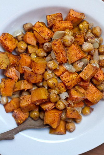 20101103IMG 9515 thumb   Cinnamon Sweet Potato Chickpea Salad